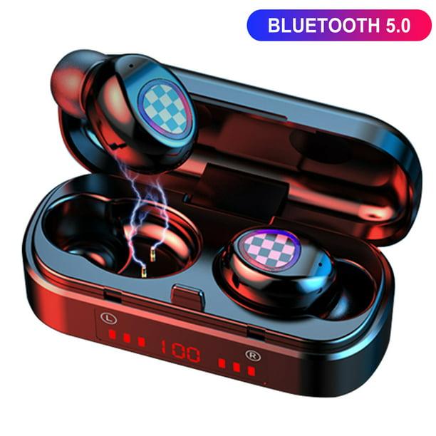 True Wireless Earbuds Bluetooth 5 0 Headphones With Wireless Charging Case Waterproof Tws Stereo Earphones Cvc8 0 Noise Canceling In Ear Headphones Built In Mic Led Battery Display Sport Headset Walmart Com Walmart Com