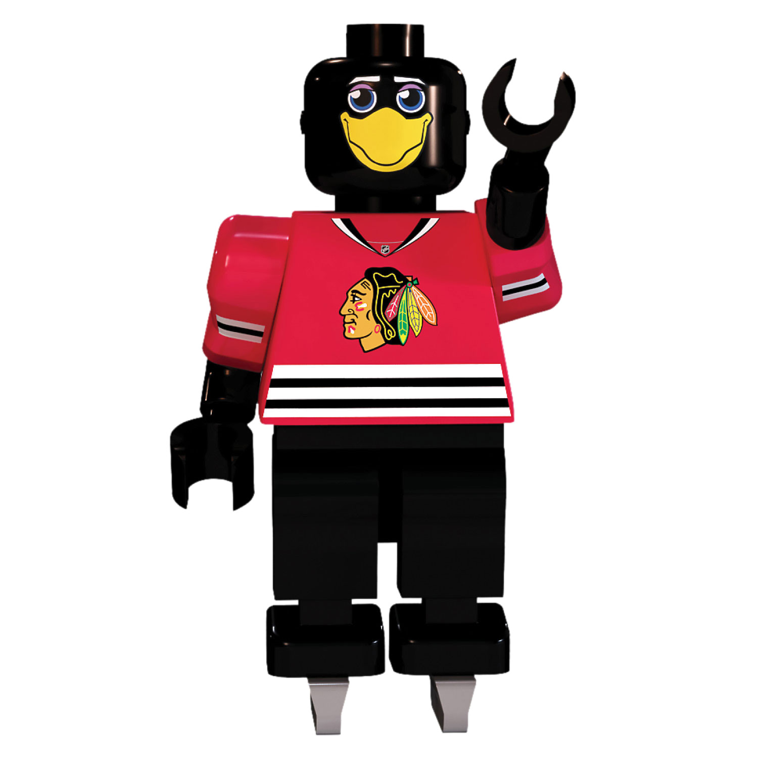 Chicago Blackhawks Mascot OYO Sports Player Minifigure - No Size