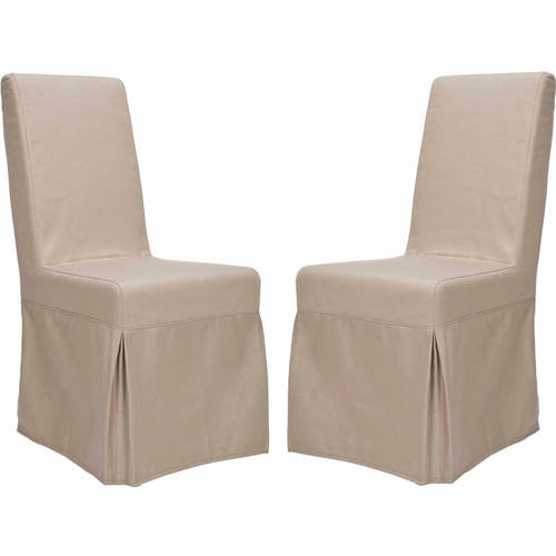 Safavieh Adrianna Slipcover Chair, Multiple Colors, Set of 2 by Safavieh
