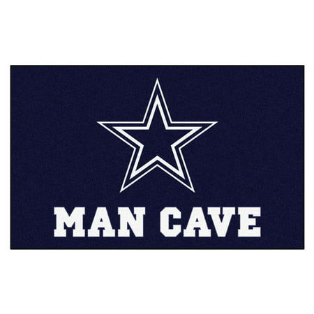 (NFL - Dallas Cowboys Man Cave Tailgater Rug 5'x6')