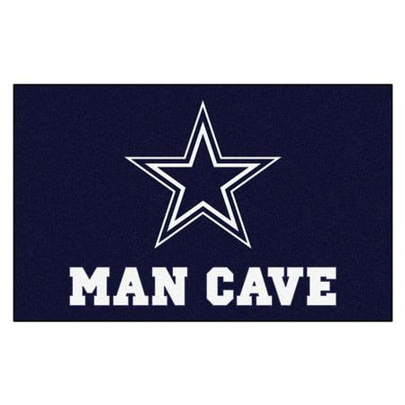 (NFL - Dallas Cowboys Man Cave Tailgater Rug 5'x6')