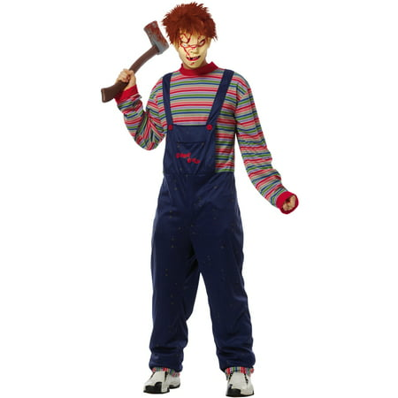 Chucky Adult Costume](Tiffany Chucky Costumes)