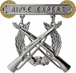 Marine Corps Qualification Badge Rifle Expert