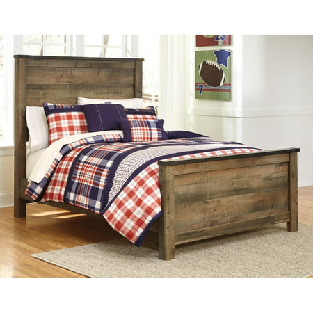 Signature Design By Ashley Trinell Panel Bed Walmartcom