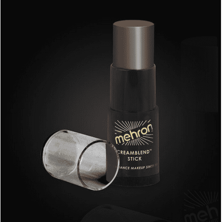 LWS LA Wholesale Store  Mehron CreamBlend Stick Makeup Stage Theatrical Foundation (Ebony 10c)