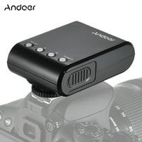 Andoer WS-25 Professional Portable Mini Digital Slave Flash Speedlite On-Camera Flash with Universal Hot Shoe GN18 for Canon Nikon Pentax Sony a7 nex6 HX50 A99 Camera