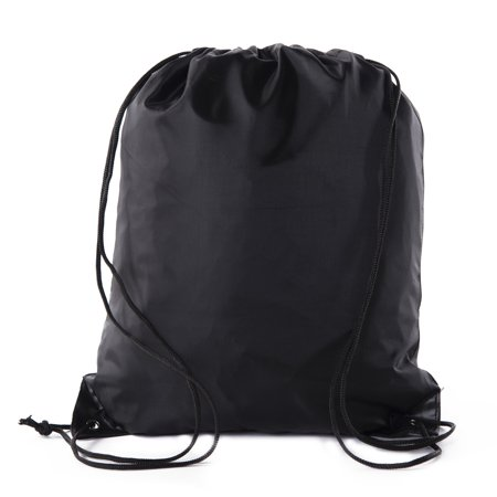 Mato & Hash Drawstring Bag Promotional Cinch bags - 10 Colors Available - Gym Drawstring Backpack (Softball Drawstring Bags)