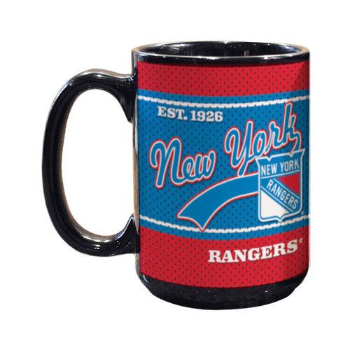 NHL - New York Rangers 15oz. Jersey Mug