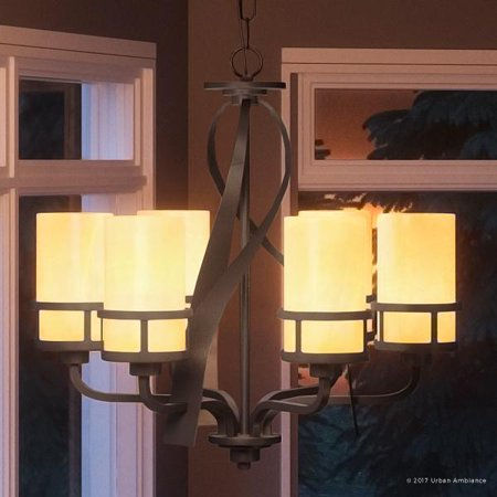 Design Butterscotch (Urban Ambiance Luxury Rustic Chandelier, Medium Size: 23