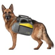 Go Fresh 2-in-1 Pet Dog Harness and Hiking Dog Backpack Outdoor Gear Travel Camping Rucksack