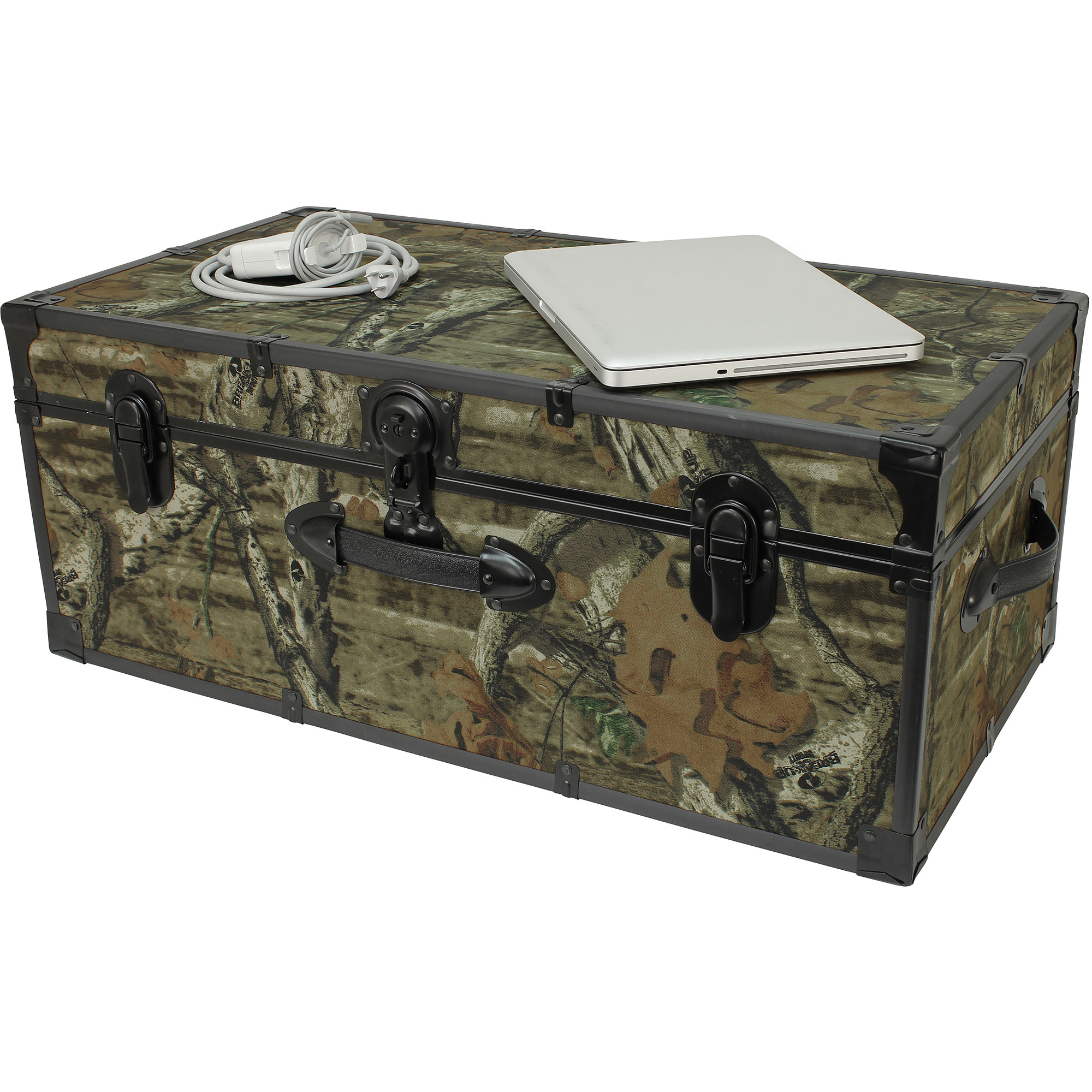 "Seward™ Trunk Wheeled Storage Footlocker 30"" Mossy Oak Walmart"