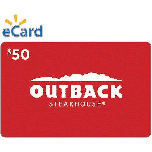 Outback Steakhouse $50 (Email Delivery)