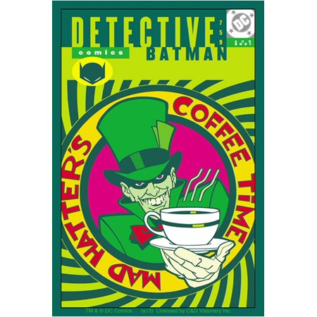 Officially Licensed, DC Comics Batman Mad Hatter Sticker