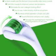 Best Derma Roller 1.0s - 540 Needle Titanium 0.25mm Micro Needle Derma Roller Review