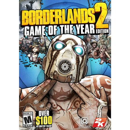 Borderlands 2 Game of the Year Edition (PC) (Email (Borderlands Game Of The Year Edition Cheats)