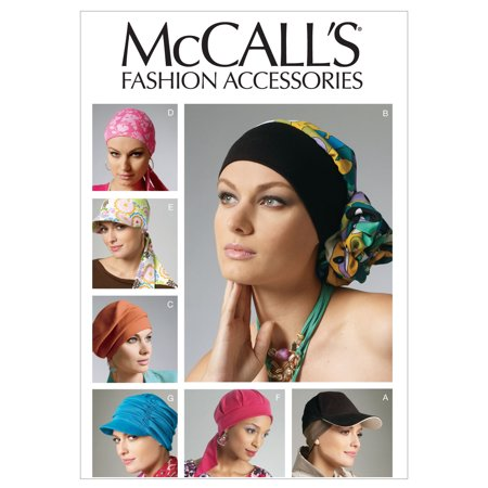 McCall's Pattern Headband, Head Wraps and Hats, All Sizes (Mccalls Halloween Sewing Patterns)