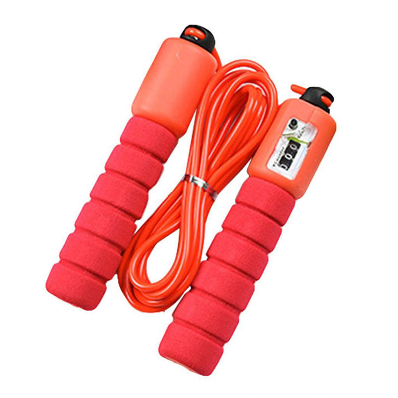 Sports Fitness Jump Ropes With Counter Speed Counting Skip Rope Skipping Wire