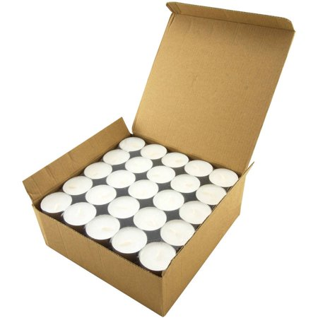 Stonebriar Tea Light Candles 6-7 Hour, Pack of 100 - Fall Tealight Candles
