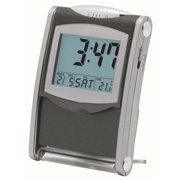 Dainolite Travel Alarm Clock in Gray