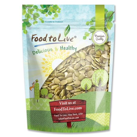 Pumpkin Seeds - Pepitas Raw (No Shell) - 2 Pounds