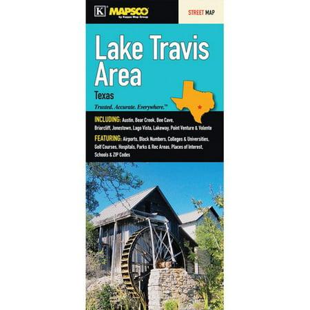 Universal Map Lake Travis Area Map Fold Map  Set Of 2