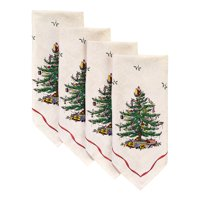 Spode Red Tree 4 Pack Napkins