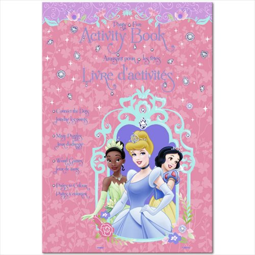 Disney Princess Activity Books / Favors (4ct)