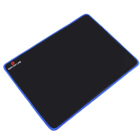 Mouse Pad  Waterproof  Ultra Thick 5Mm  Silky Smooth Surface Big Gaming Mouse Pad   15  X11   Blue