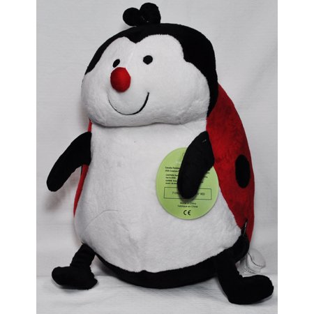 Ladybug Stuffed Animal (EB Embroider Lady Bug 16 Inch Embroidery Stuffed)