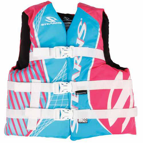 Stearns Youth Girls' Nylon Deluxe Vest