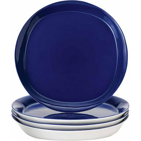 Rachael Ray Dinnerware Round and Square 4-Piece Stoneware Dinner ...