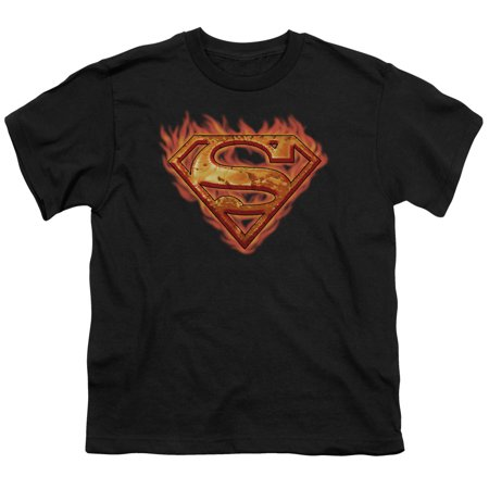 Superman Hot Metal Big Boys Youth Shirt](Hot Girl In Superman Shirt)