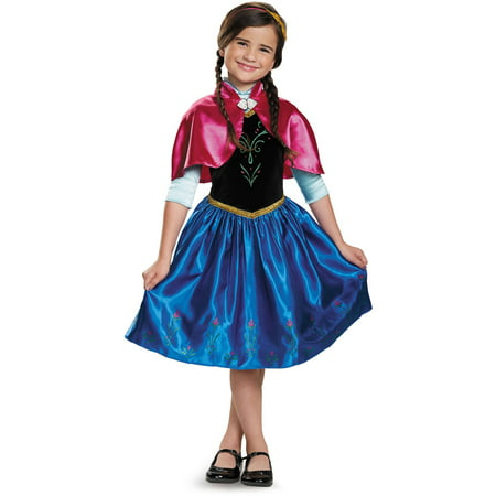 Classic Horror Halloween Costumes (Frozen Anna Classic Child Halloween)