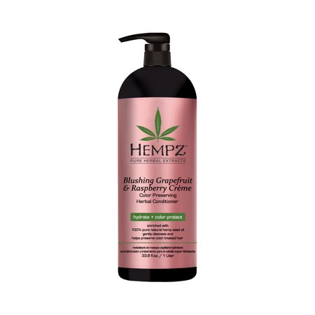 Hempz Blushing Grapefruit & Raspberry Crme Color Preserving Herbal Conditioner 33 oz.