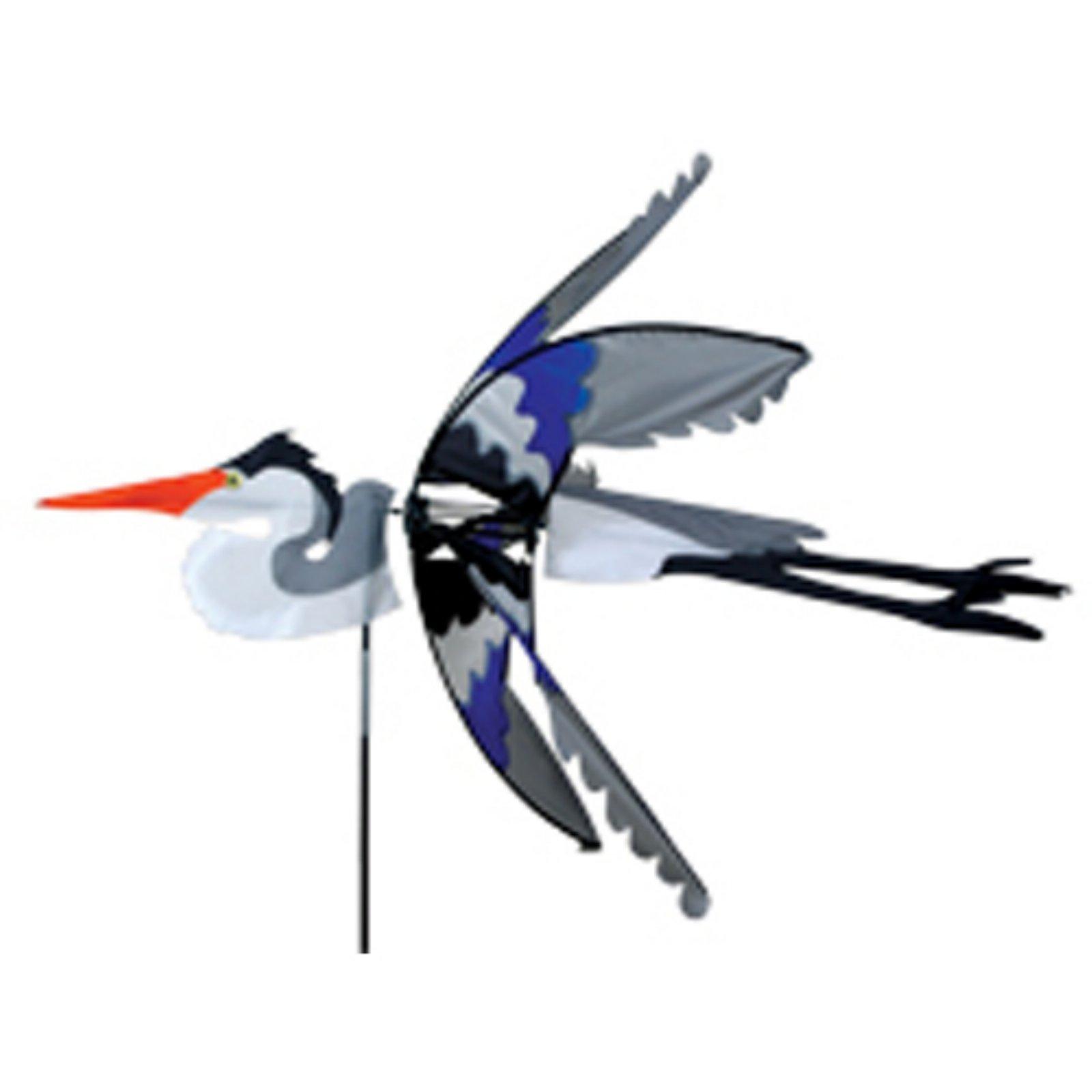 Premier Designs Blue Herron Wind Spinner
