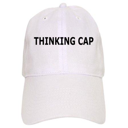 CafePress - Thinking Cap - Printed Adjustable Baseball Cap - Thinking Cap