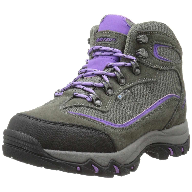 Hi-Tec 9022 Women's Skamania Mid-Rise Waterproof Hiking Boots Suede Fabric by Hi-Tec