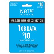 Net10 $10 Mobile Hotspot 30-Day Plan e-PIN Top Up (Email Delivery)