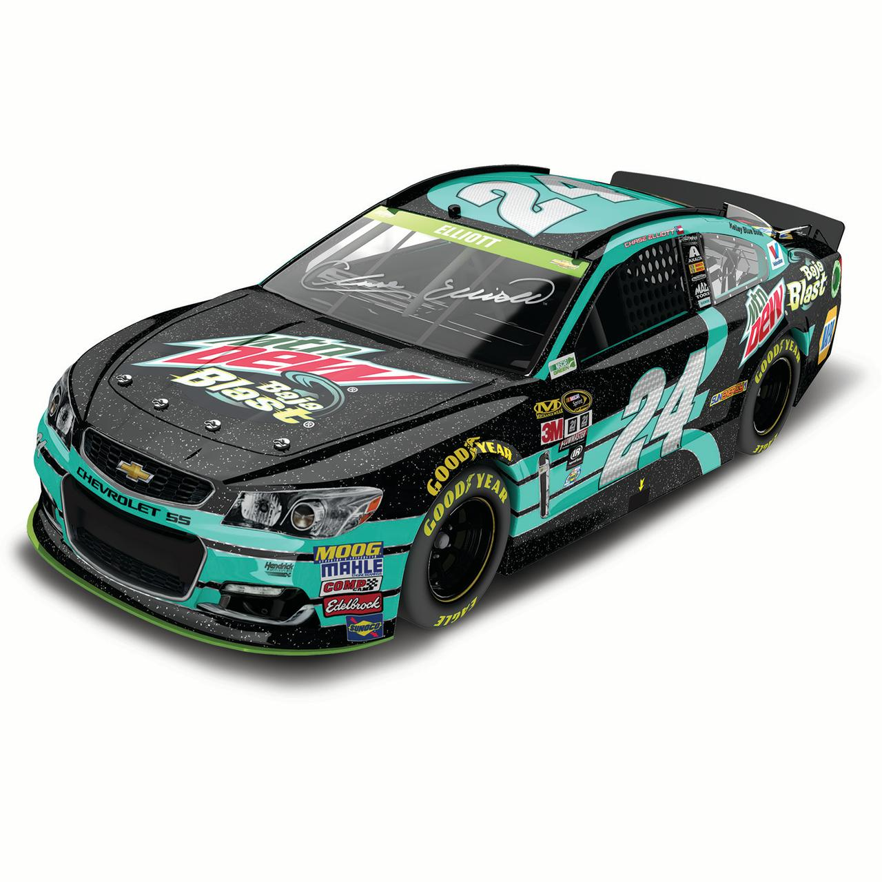Chase Elliott Action Racing 2016 #24 Mountain Dew Baja Blast 1:24 Nascar Sprint Cup Series... by Lionel LLC