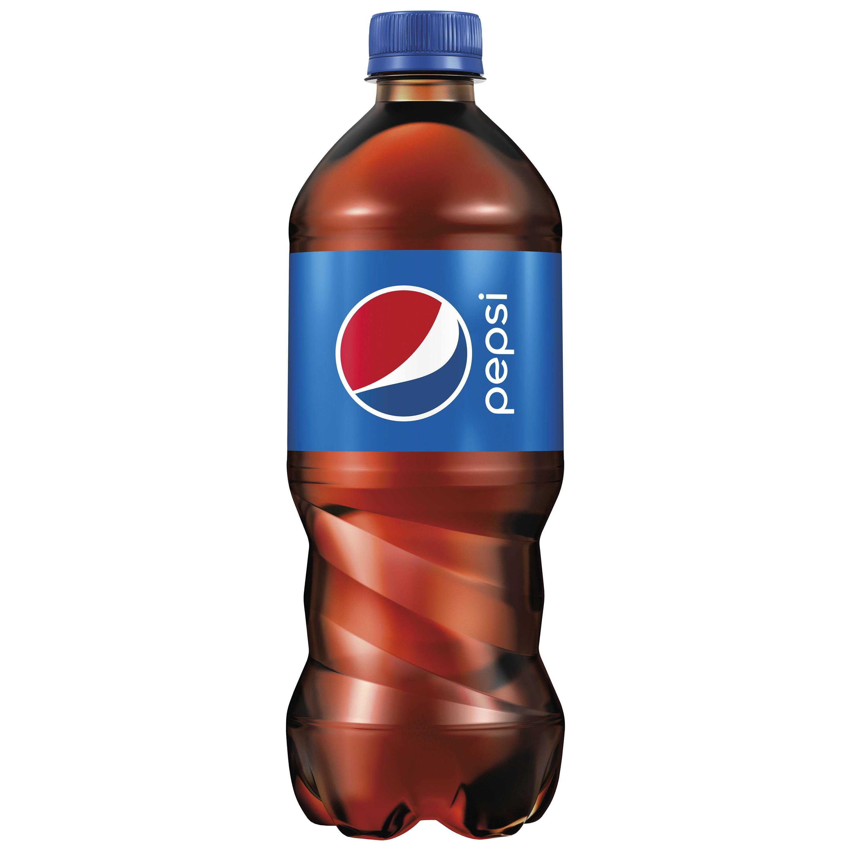 Pepsi Soda 20 Oz Bottle Walmart Com