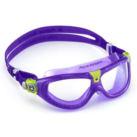 Seal Kid 2 Swim Goggle, Blue Lens / Aqua, Mixed, , By Aqua