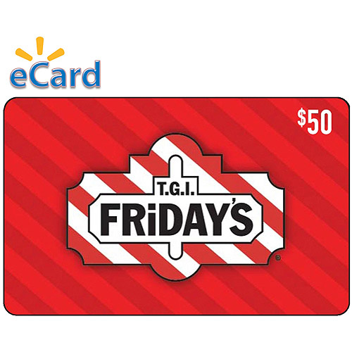 T.G.I. Friday's $50 eGift Card (Email Delivery)