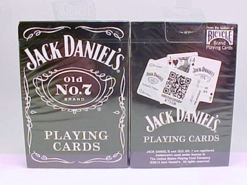 2 Decks Bicycle Jack Daniels Old No 7 Playing Cards Bicycle Brand USA MADE