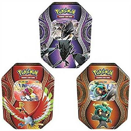 pokemon tcg: random mysterious powers tin (ho-oh gx, necrozma gx, or marshadow