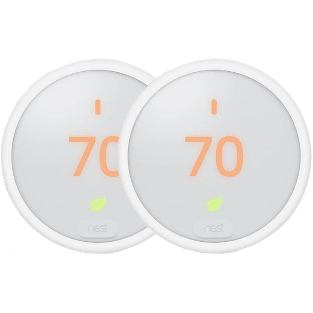 Google Nest Thermostat E White (T4000ES) 2-Pack
