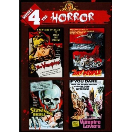 Movies 4 You: Horror (DVD) - Funny Halloween Horror Movies