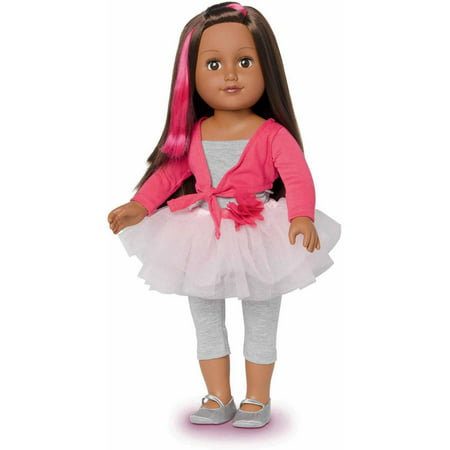 My Life As 18 Quot Ballerina Doll African American Walmart Com