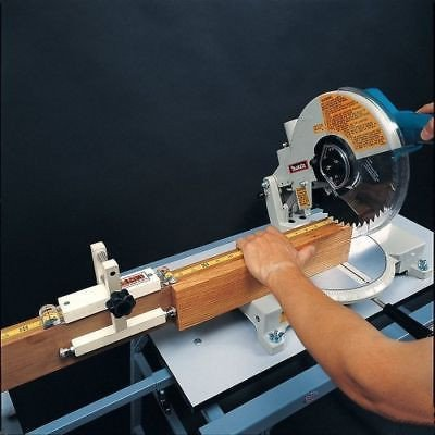 Multiple Stop Jig for Radial Arm or Miter Saw