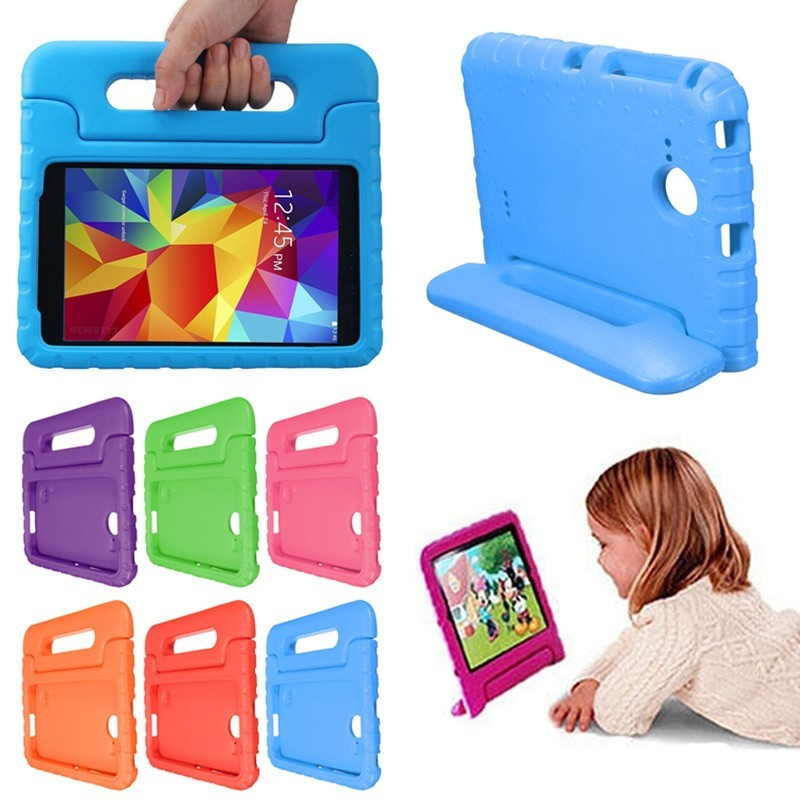 "Children Safety Kids Handle Shock Proof Protective EVA Foam Case Cover Stand For Galaxy Tab A 10.1""/ 8"""