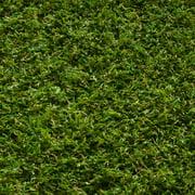 "Well Woven Arcadia Grass Modern Solid Plain Green Indoor/Outdoor Non-Slip 20"" x 5' Runner Rug"